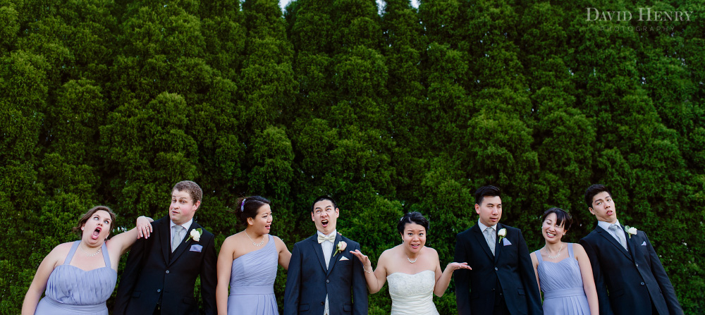 Enjoying A Moment With The Bridal Party At Bicentennial Park