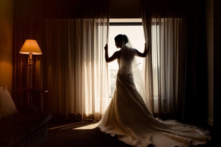 Bride getting ready at Sir Stamford Sydney