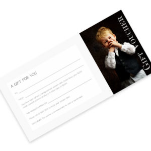 $1,000 gift voucher for David Henry Photography